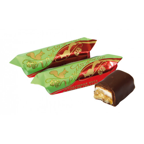 """Peanut candies """"Grilyazh"""" with air mass in cocoa glaze, 300g"""