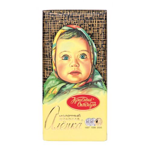"Milk chocolate ""Alenka"", 100g"