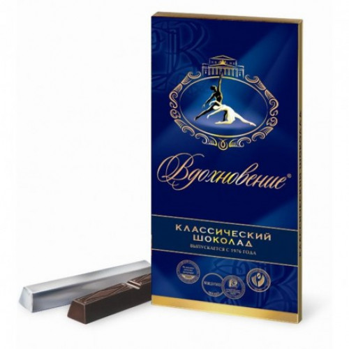 "Класичний шоколад ""Натхнення"", 100г"