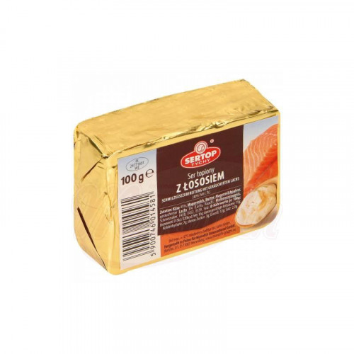 Cream cheese with smoked salmon, 100g