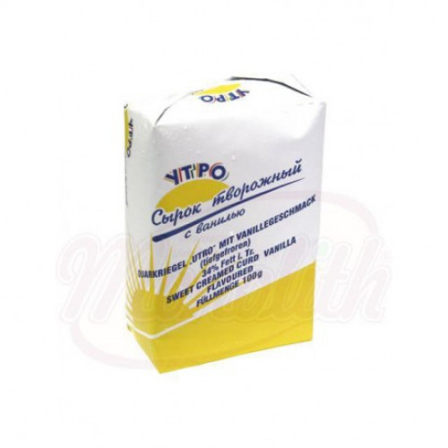 """Curd cheese with vanilla """"Morning"""" 34% fat, 100g"""