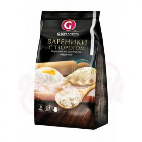 Frozen dumplings with cottage cheese 450g