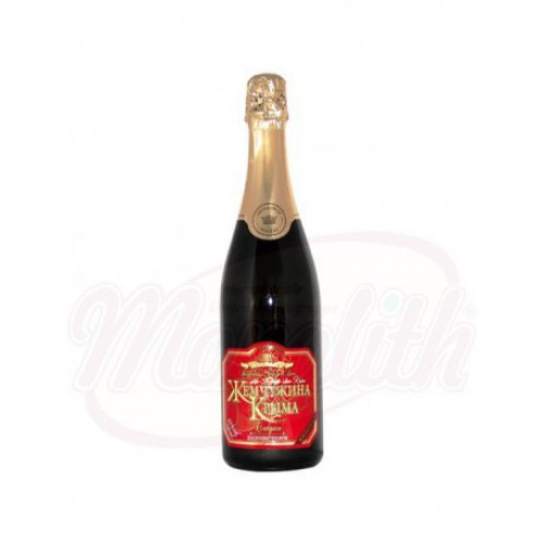 "Sparkling wine ""Pearl of Crimea"" red sweet, 0.75l"