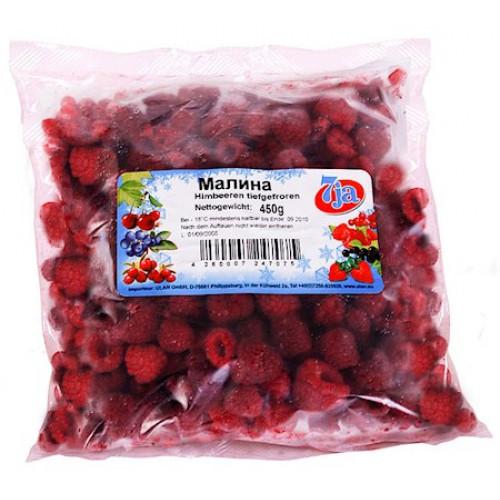 Frozen raspberries 7ja, 450g