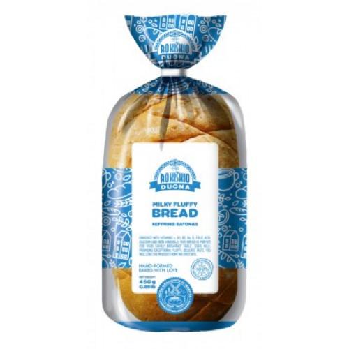 Батон Рокишкис кефірний Lašų duonos, 450г