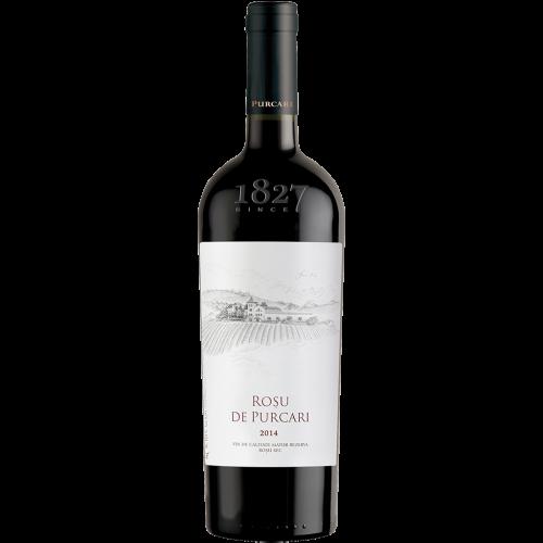 Молдавское красное сухое вино Roșu de Purcari 2014