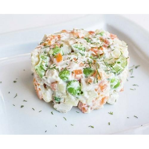 """Салат """"Столичный"""" с курятиной свежий, 400г,"""