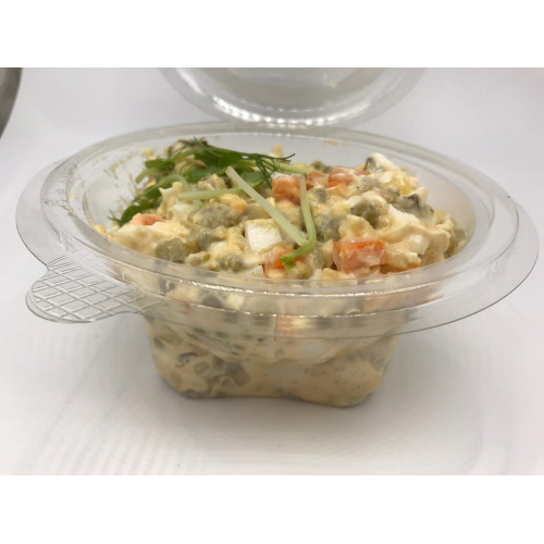 "Fresh vegetarian salad ""Russian"", 400g (delivery time - two days)"