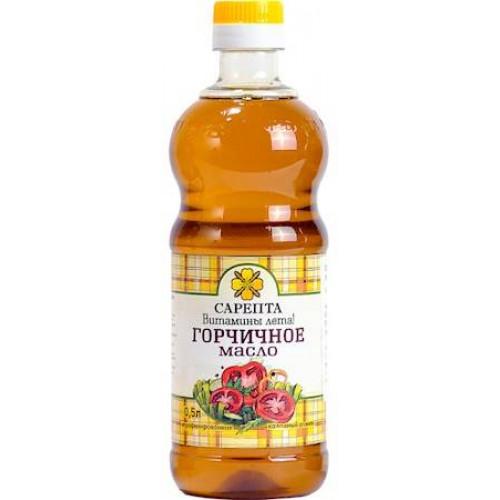 "Unrefined mustard oil ""Sarepta"", 0,5l"