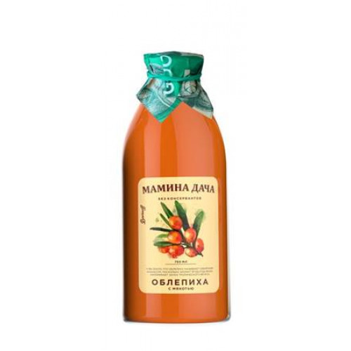 "Sea-buckthorn nectar with pulp ""Mother's Dacha"", 0.75l"