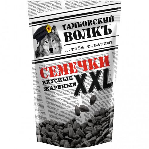 "Sunflower seeds XXL black fried ""Tambov Wolf"", 400g"