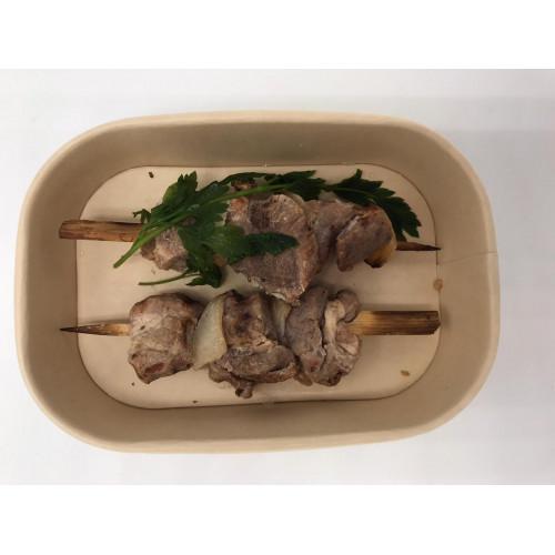 Roasted pork shashlik, 200g