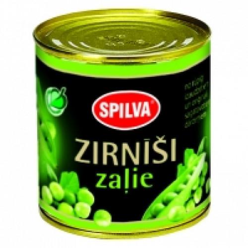 Латвийский зеленый горошек SPILVA, 420г