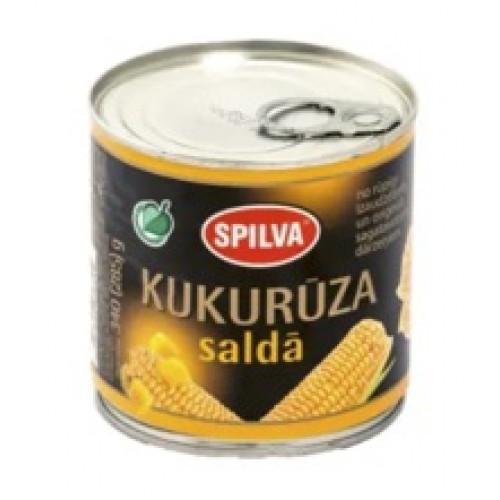 Латвійська солодка кукурудза SPILVA, 340г