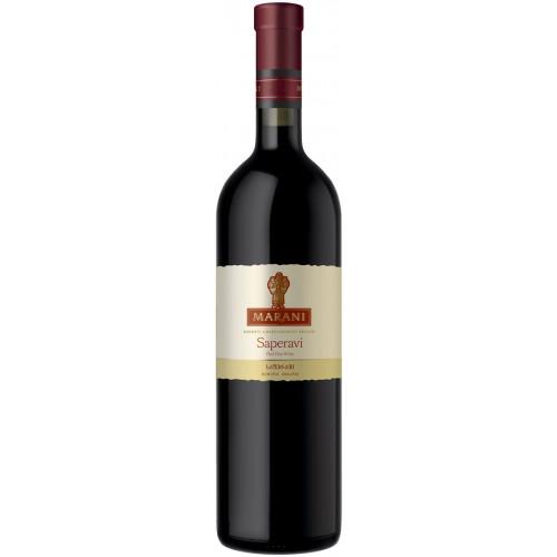 Грузинське червоне сухе вино Telavi Marani Saperavi 2018