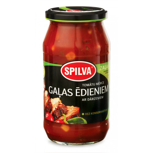 Spilva tomato sauce for meat dishes, 500g