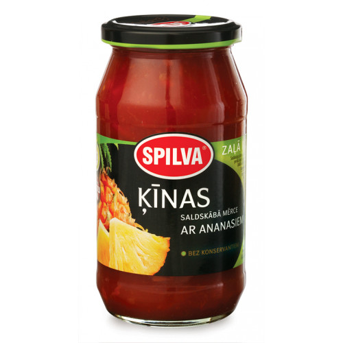 Sweet and sour Spilva sauce with pineapple, 500g