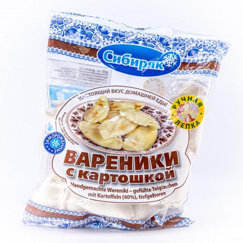 """Вареники с картошкой по-сибирски ручной лепки """"Сибиряк"""", 800г"""