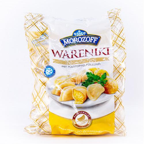 Handgemaakte aardappelknoedels, vers ingevroren, 900 gr.
