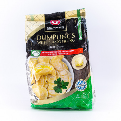 Frozen dumplings with potatoes 450 g