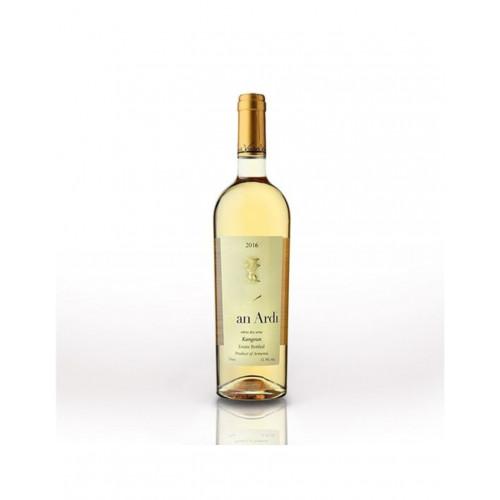 Армянское белое сухое вино Van Ardi Kangun 2019