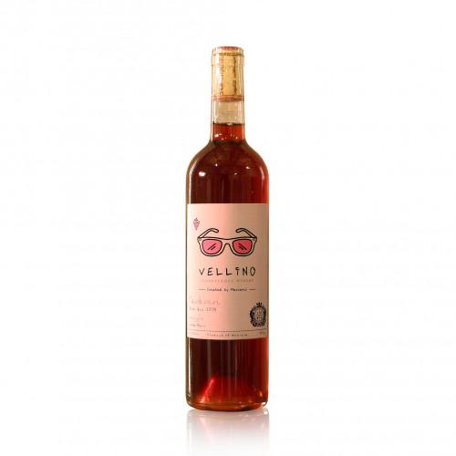 Грузинское розовое сухое вино Vellino Tavkveri 2019