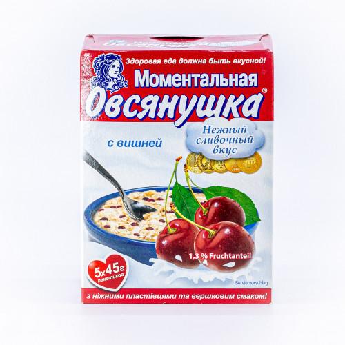 Oatmeal porridge with cherries 225g