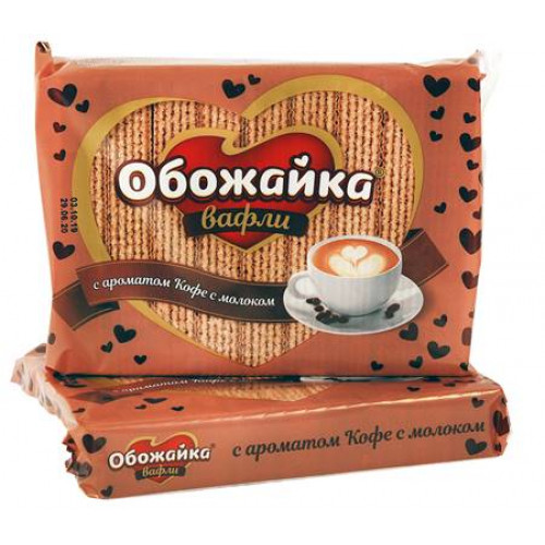 """Wafers """"Loafer"""" with the taste of coffee, 225g"""