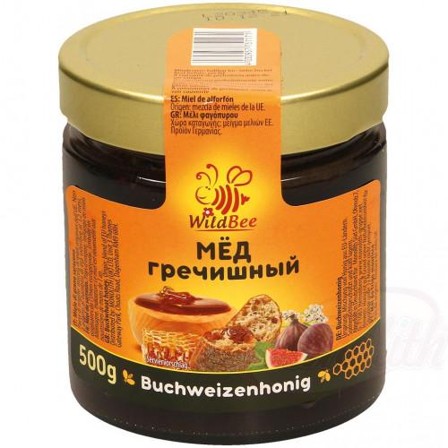 Buckwheat honey Wildbee, 500g